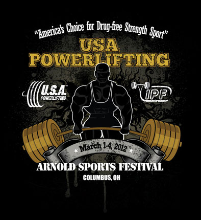 Arnold Sports Festival Logo Contest | USA POWERLIFTING at ...